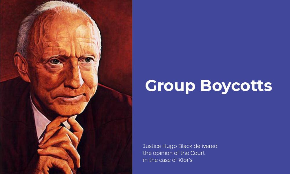 """Group Boycotts, Explained"" By William Markham, San Diego Attorney"
