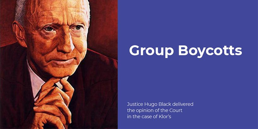 """Group Boycotts, Explained"" By William Markham, San Diego Attorney © 2016"